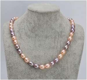 水滴型珍珠项链-【新闻】